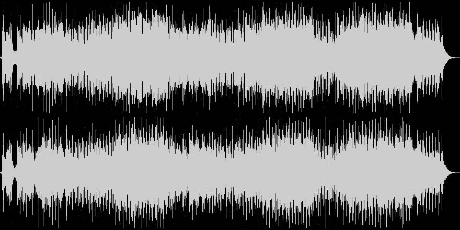 クールジャパン!和楽器の現代テクノ音楽の未再生の波形