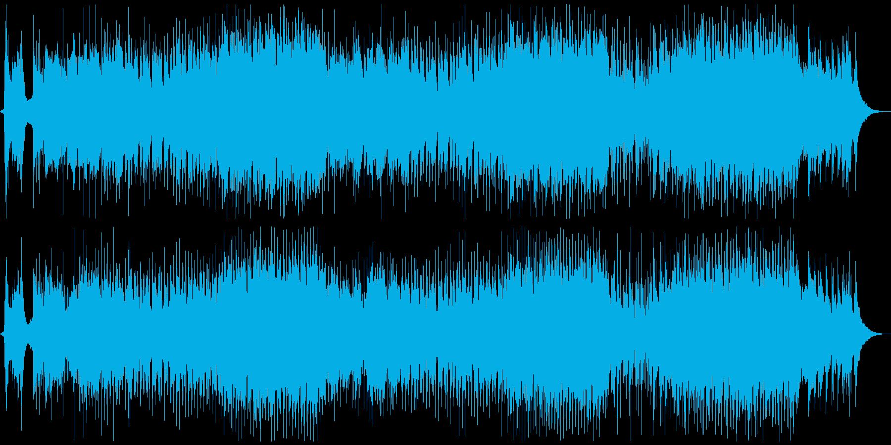 クールジャパン!和楽器の現代テクノ音楽の再生済みの波形