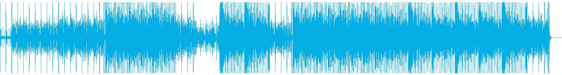 クールな雰囲気のソウル、R&B系BGMの再生済みの波形