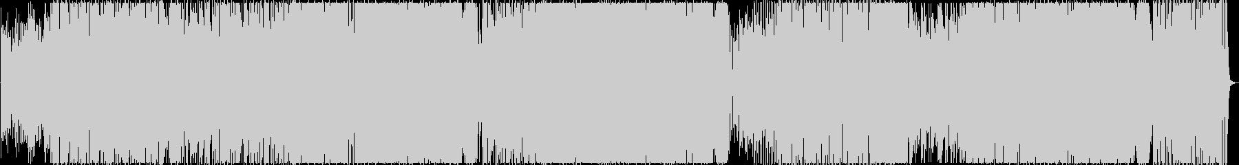 展開が多くクールなオルタナティブロックの未再生の波形