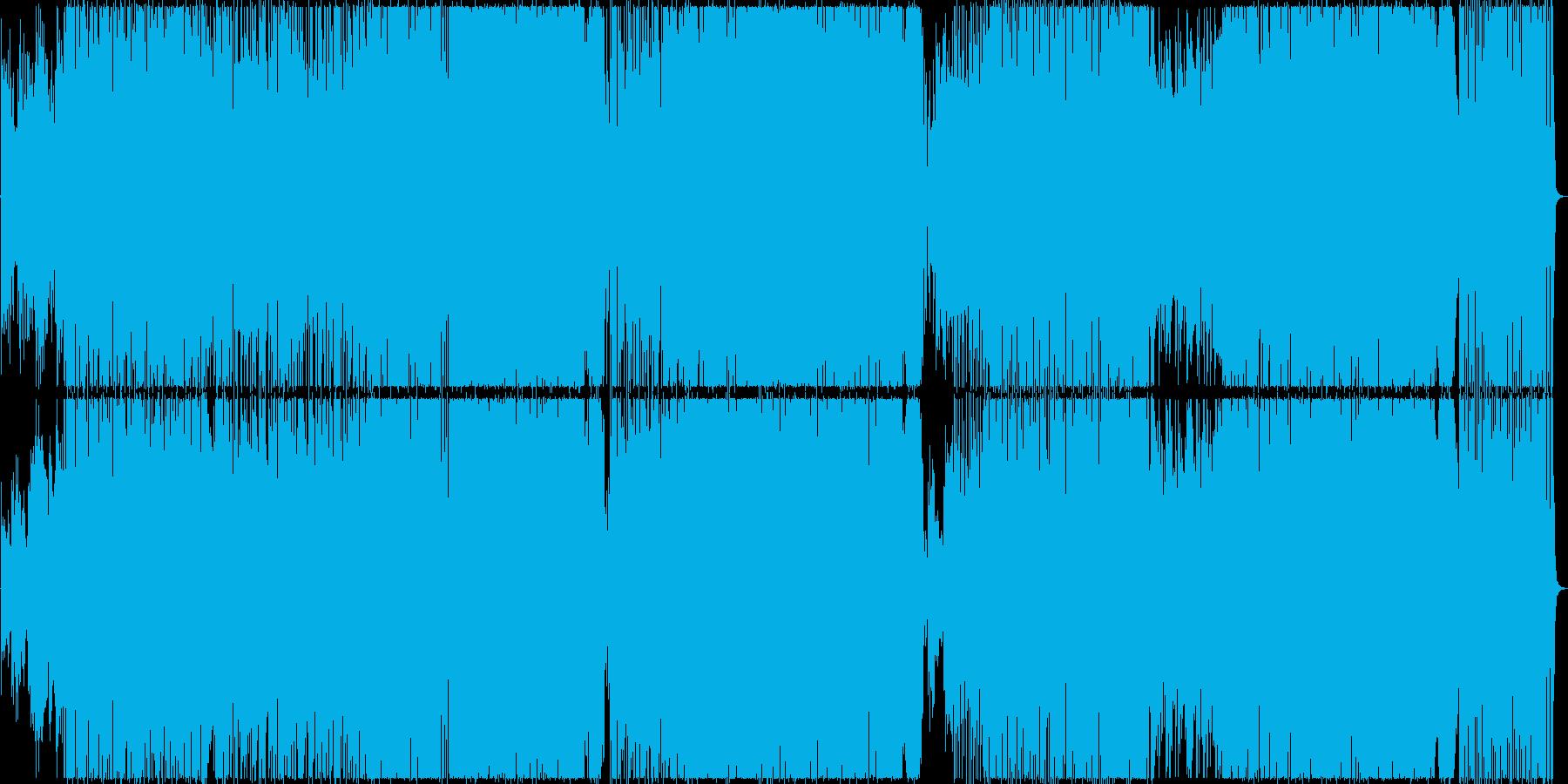 展開が多くクールなオルタナティブロックの再生済みの波形