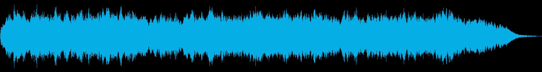 ドローン きしむ門01の再生済みの波形