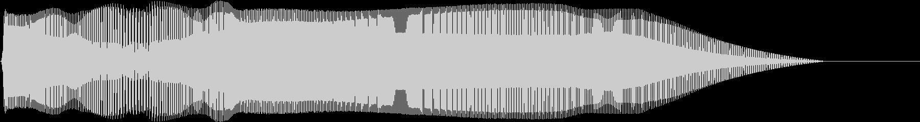 Game キャラ攻撃音 ザコキャラ退治2の未再生の波形