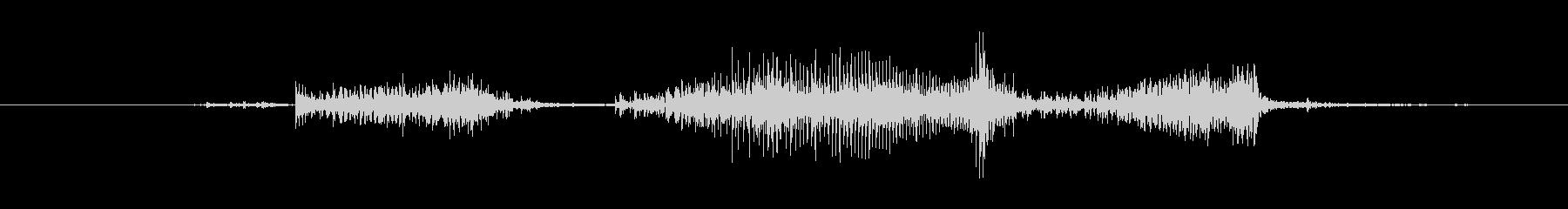 ジッパー ロングクローズラピッド02の未再生の波形