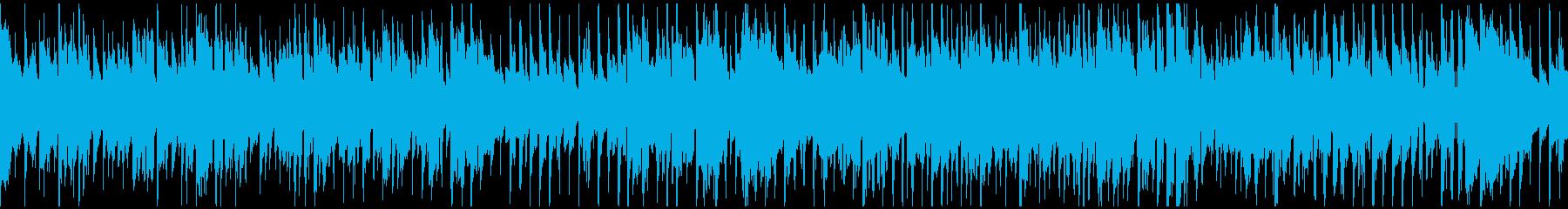 クラブジャズ、バリトンサックス※ループ版の再生済みの波形