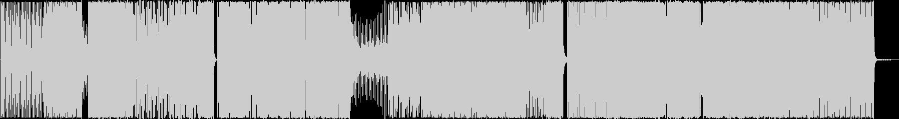 ハウスプログレッシブ、ランニングの未再生の波形