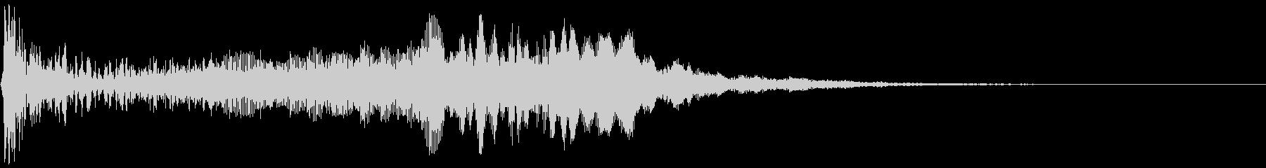【アンビエント】ドローン_13 実験音の未再生の波形