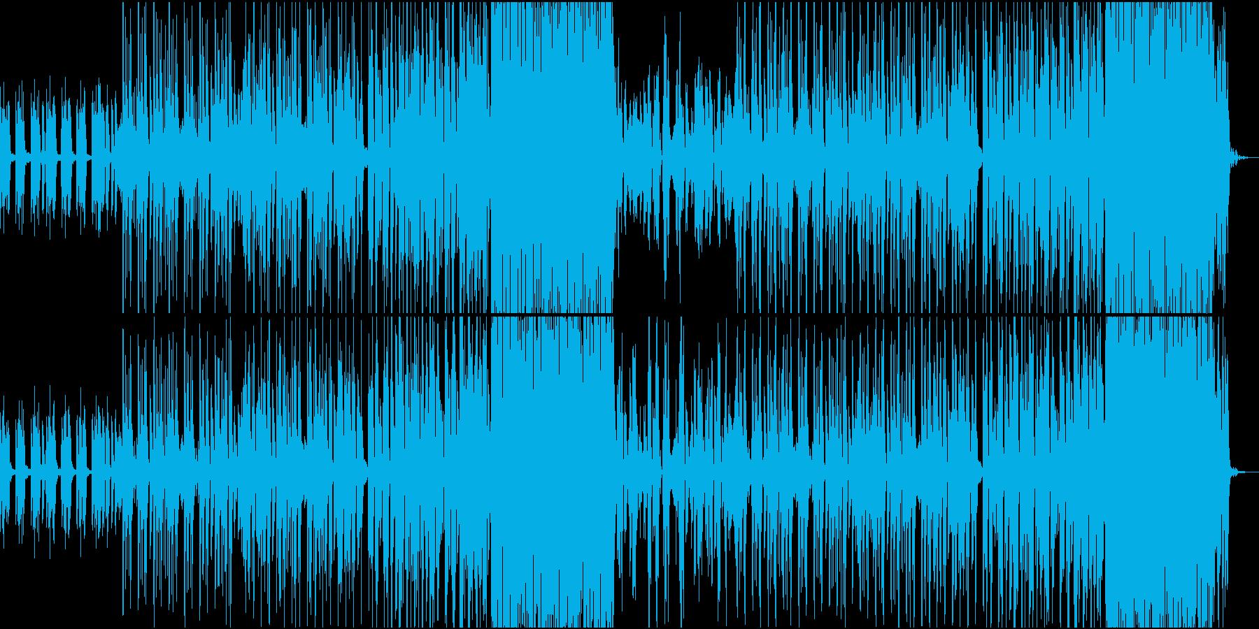 レトロで可愛らしいゲーム風トラックの再生済みの波形
