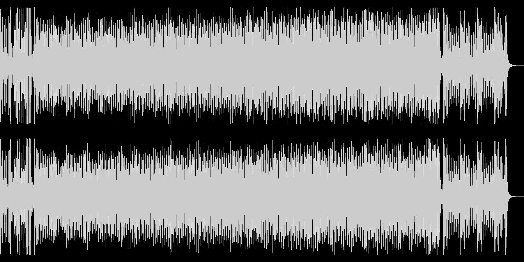 ノリノリのラテン風エレクトロポップの未再生の波形