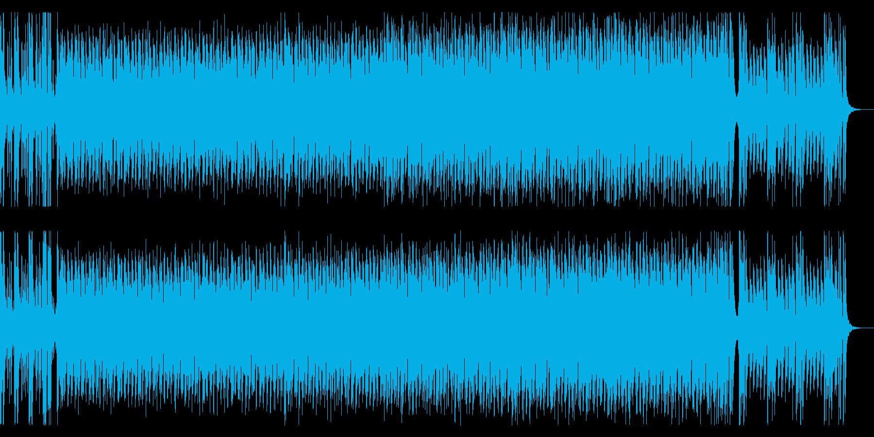 ノリノリのラテン風エレクトロポップの再生済みの波形