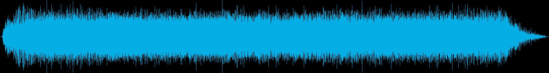 バイブレーションサンダー:開始、実...の再生済みの波形