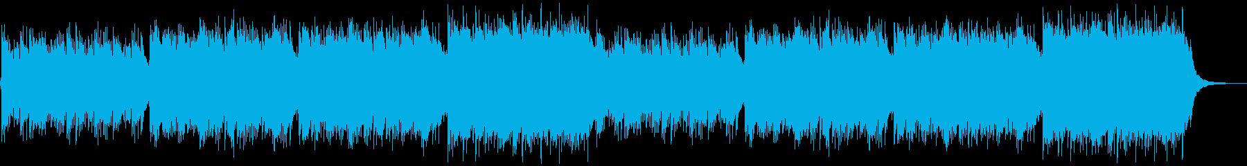 企業VP映像、154オーケストラ、爽快Lの再生済みの波形