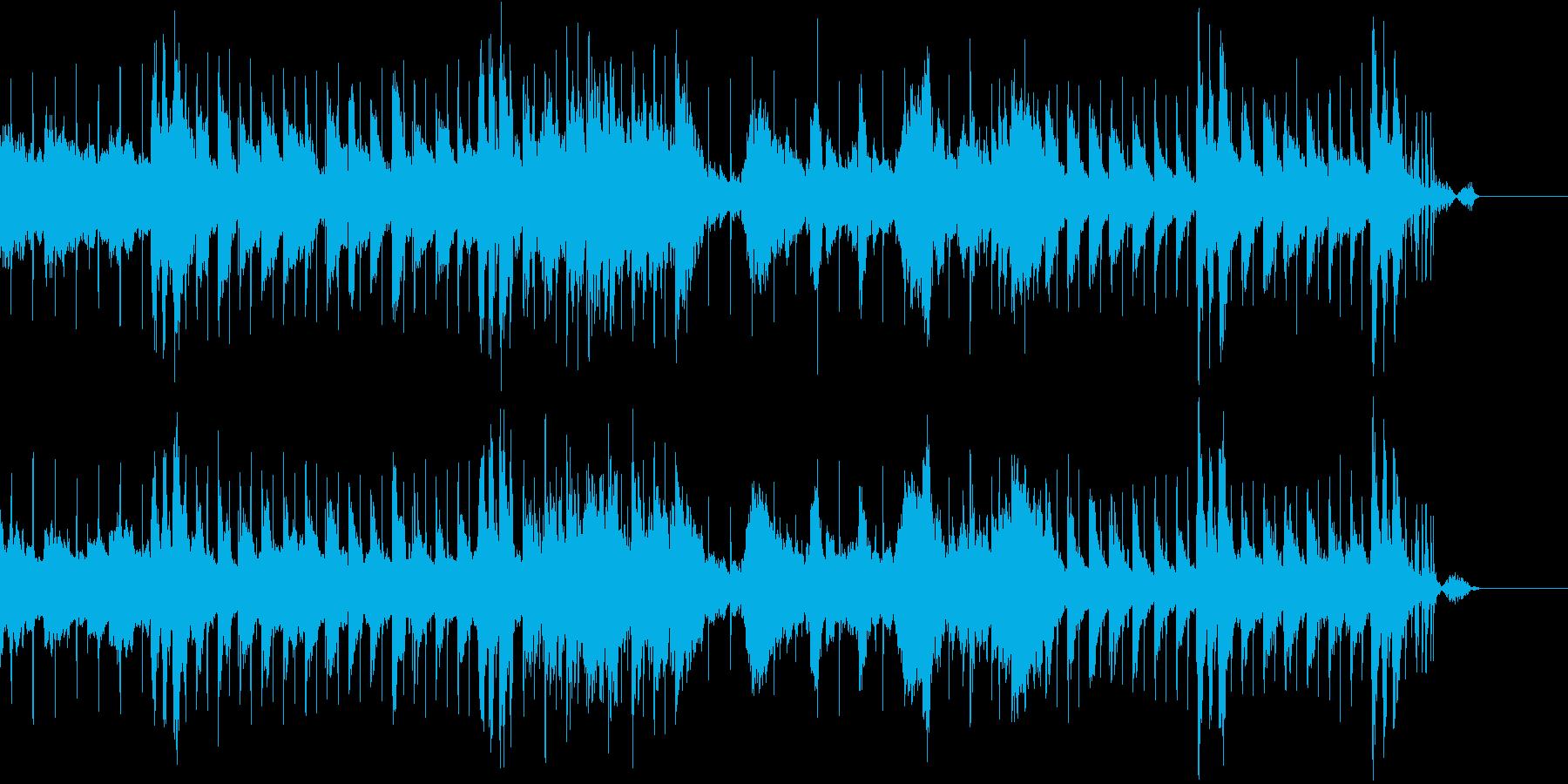 サントラに使えるおしゃれでchillな曲の再生済みの波形