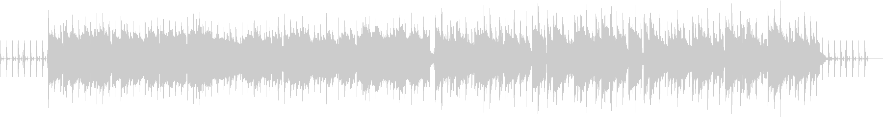 トレーニング・ストレッチ用 100BPMの未再生の波形