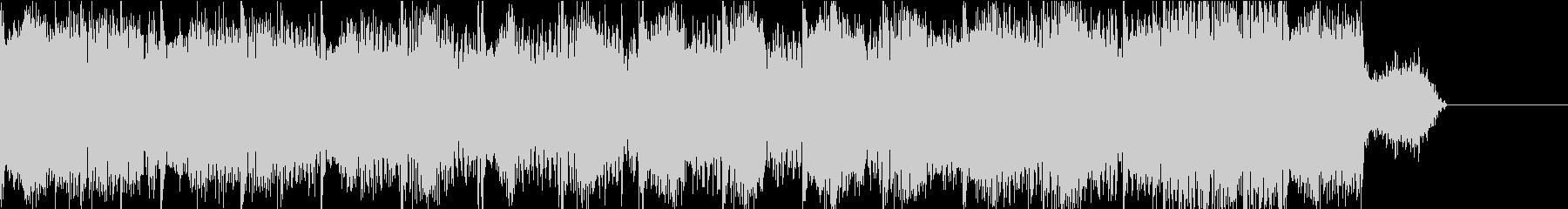 カッコイイUKハードコアテクノのジングルの未再生の波形