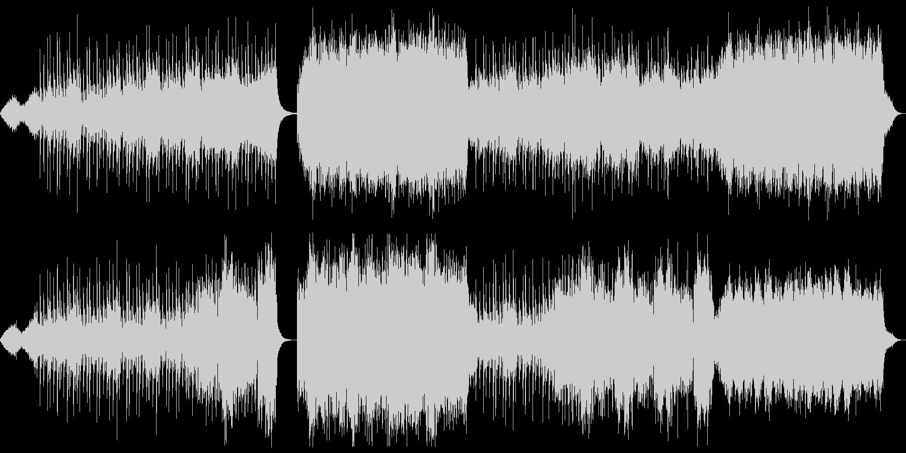 【メロディ・リズム抜き】ピアノとパッド…の未再生の波形