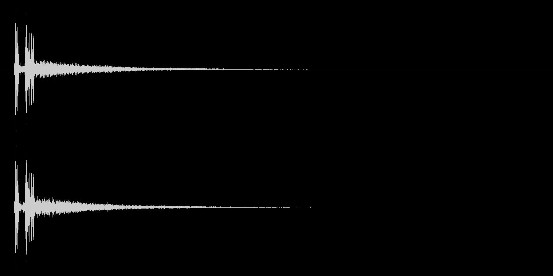 カメラ コンデジ01-03(シャッター)の未再生の波形