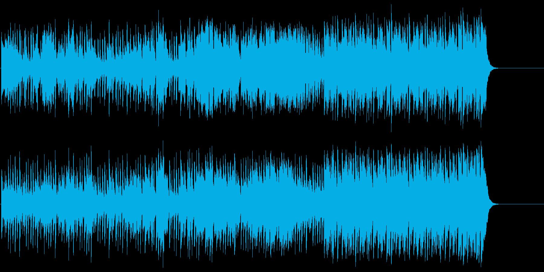 陽気なカントリー風ポップ(イントロ~…)の再生済みの波形