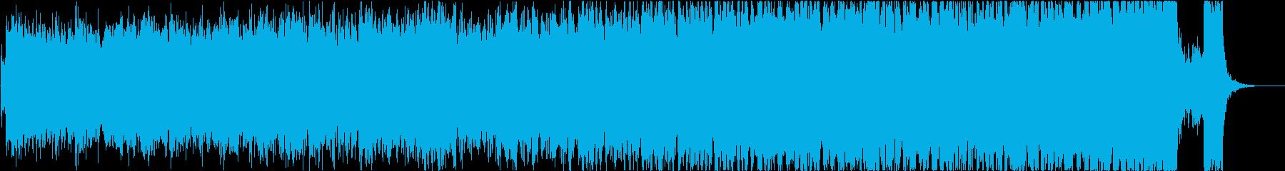 エピック、ヒロイック、シネマティックの再生済みの波形