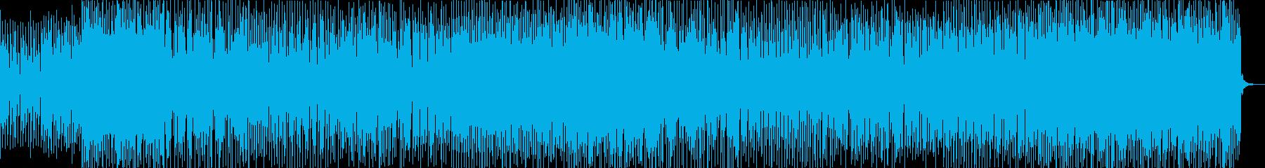 映像/ゲーム用 ピアノ風エレクトロニカの再生済みの波形