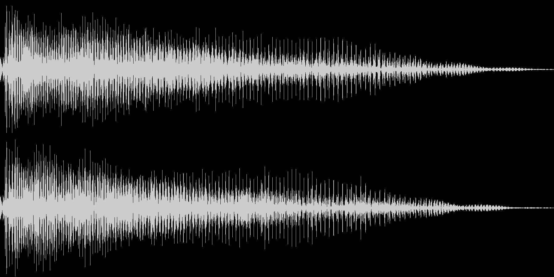 InvaderBuzz 発砲音 7の未再生の波形