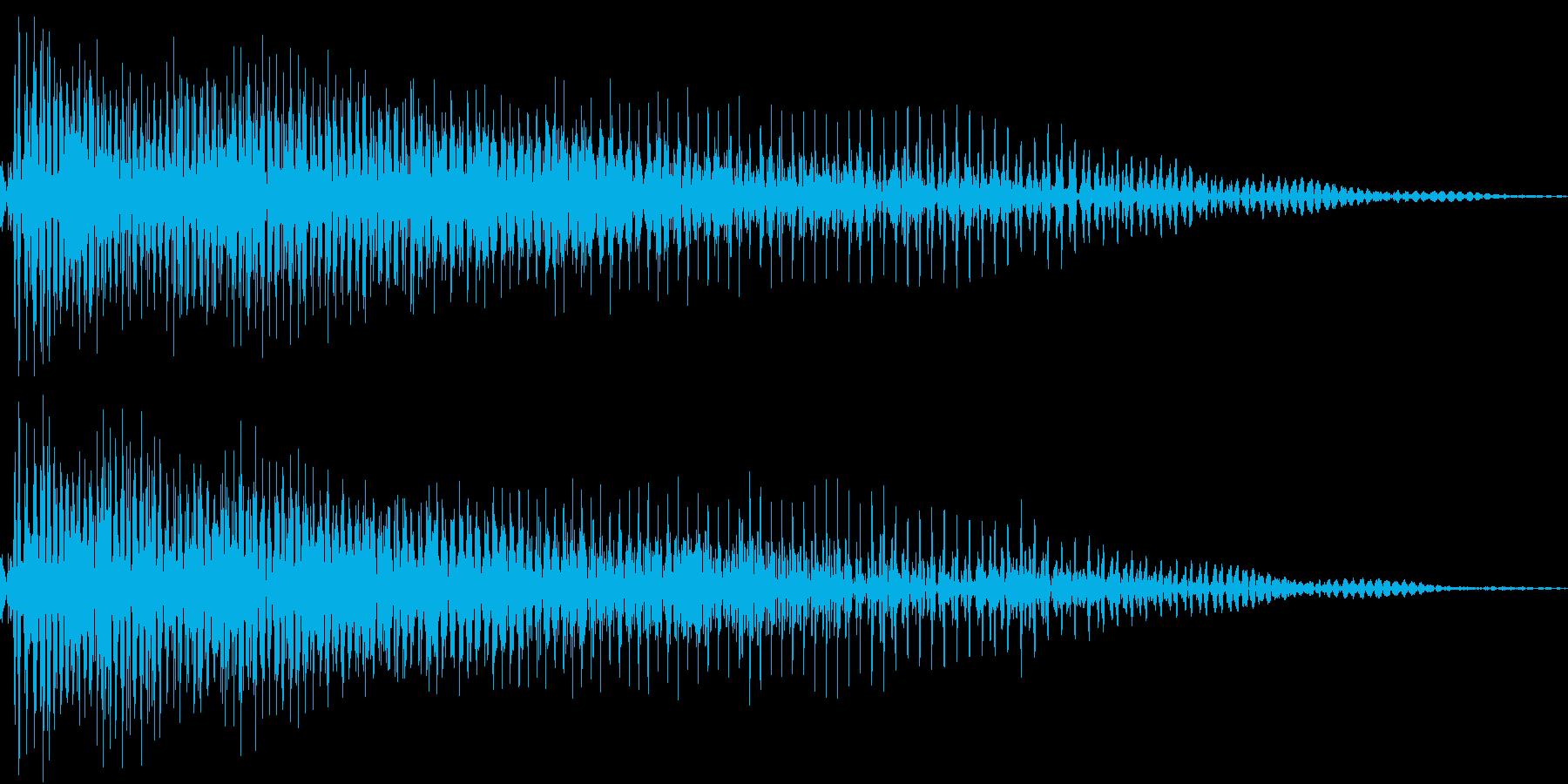 InvaderBuzz 発砲音 7の再生済みの波形