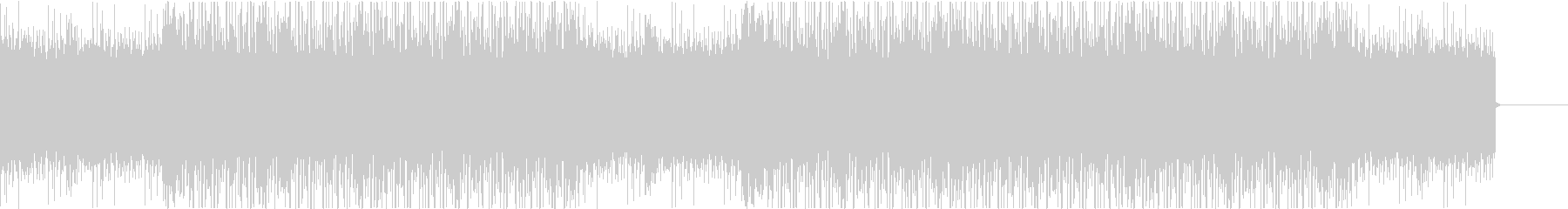 Lofi,ローファイヒップホップ5の未再生の波形