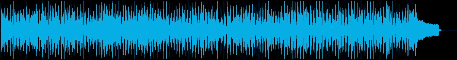 ほのぼのカントリー系の牧歌的リコーダー曲の再生済みの波形