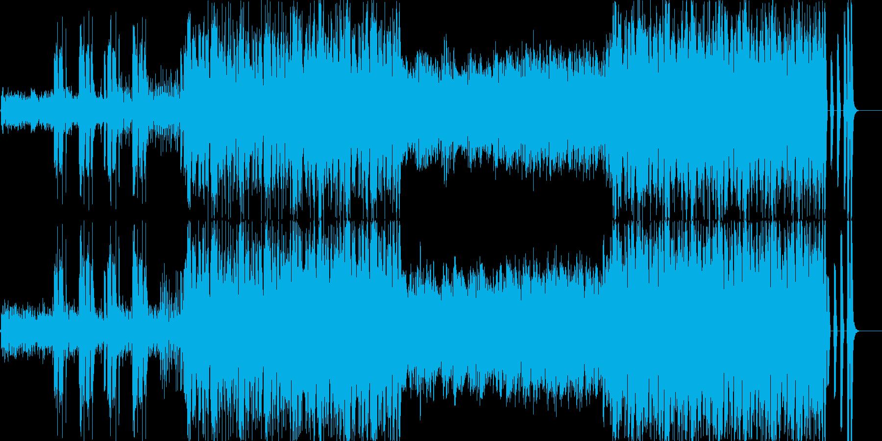 疾走感のある楽曲ですの再生済みの波形