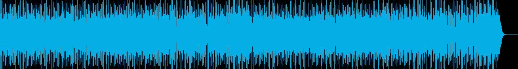 おふざけEDMの再生済みの波形