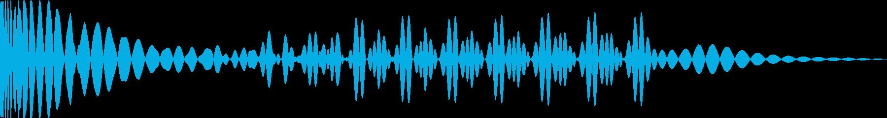 EDMキック キーBの再生済みの波形
