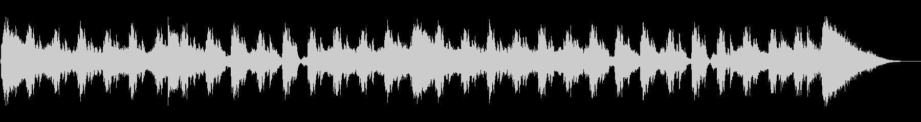 acidなジングルの未再生の波形