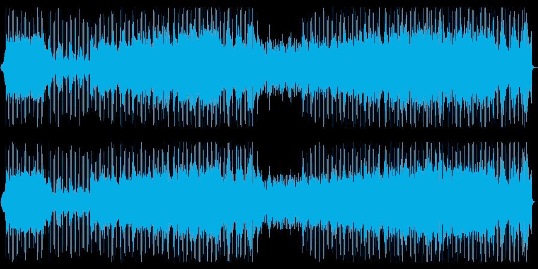 生演奏アコギ きらきら穏やかポップスの再生済みの波形