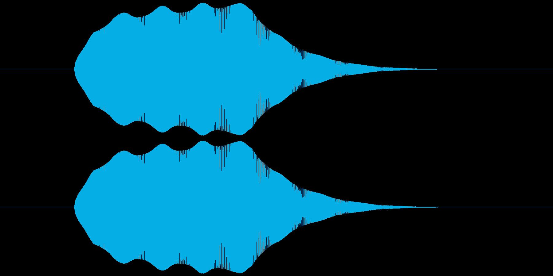 ピヨヨヨ(失敗・縮小・弱体化・困る・汗)の再生済みの波形