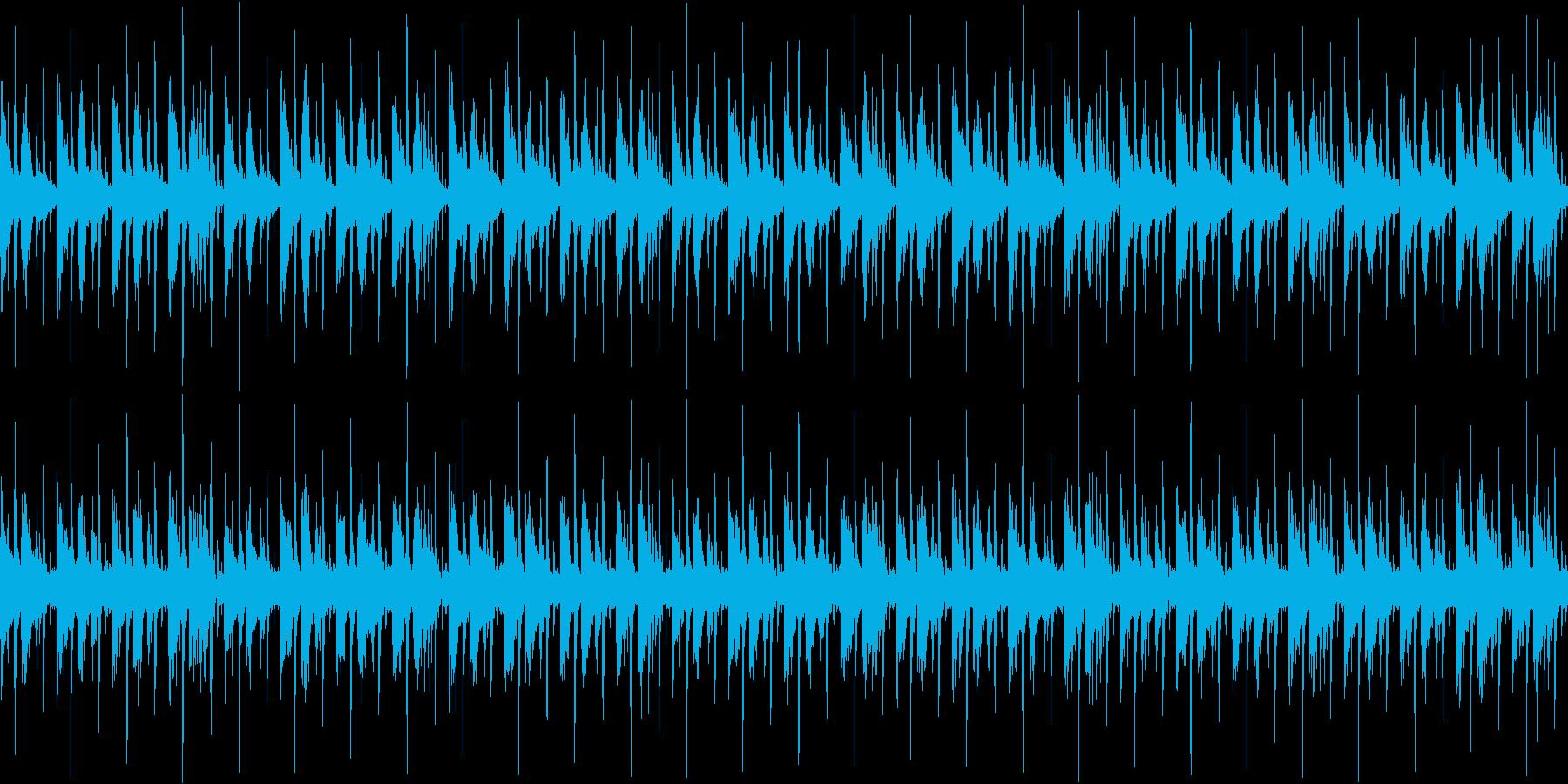 わくわくした雰囲気をもつ楽曲です。の再生済みの波形
