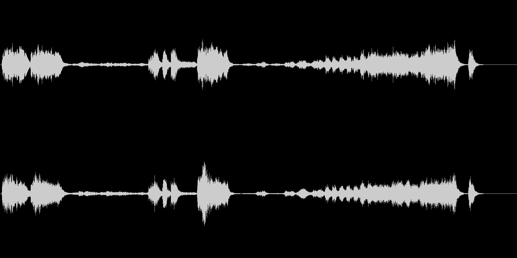 運命 ベートーヴェン 交響曲第5番 冒頭の未再生の波形