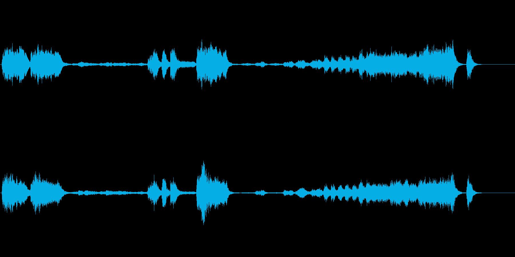 運命 ベートーヴェン 交響曲第5番 冒頭の再生済みの波形