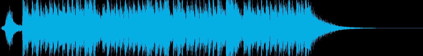 和風・和太鼓・三味線・ジングル・楽しいの再生済みの波形
