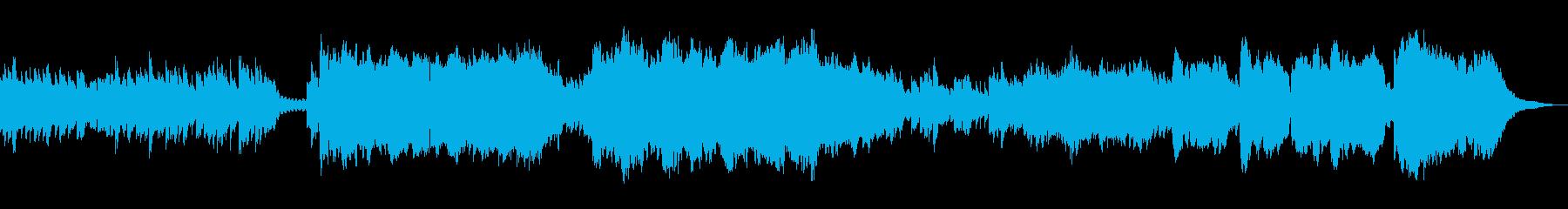静かでノスタルジックな曲ですの再生済みの波形