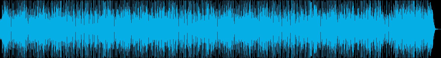 CM】渋くてかっこいいジャズブラスの再生済みの波形