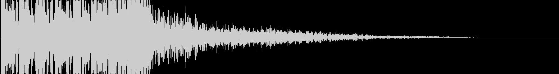 KANTシネマティックドラムキメの未再生の波形
