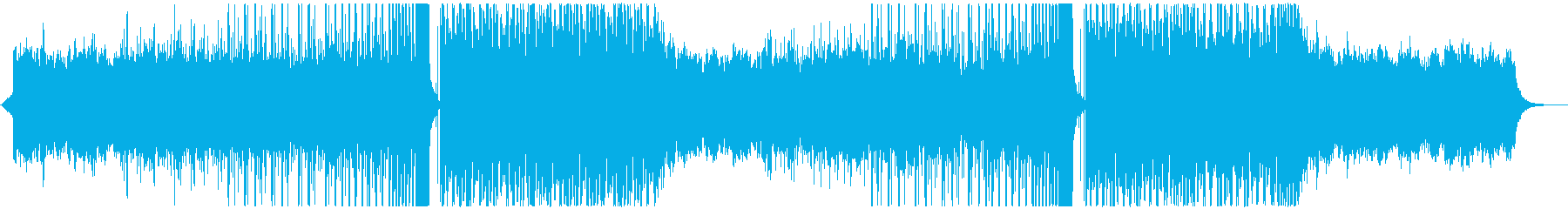 FuturePop2、お洒落、洋楽、夏Lの再生済みの波形