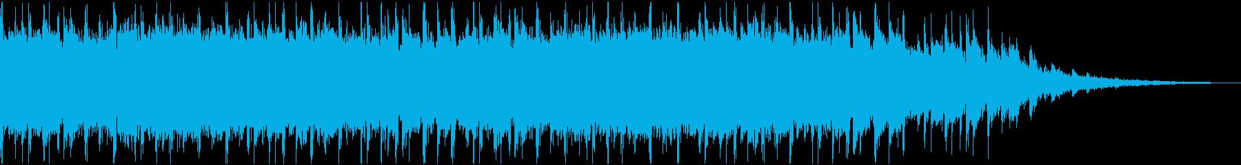 透明感のあるコーポレート系ジングルの再生済みの波形