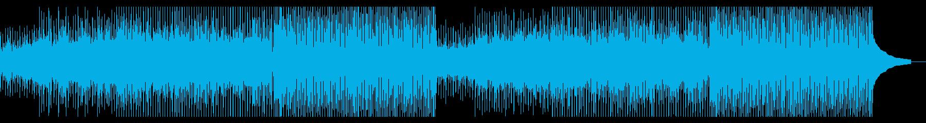 アップテンポで陽気な可愛いコンセプト系の再生済みの波形