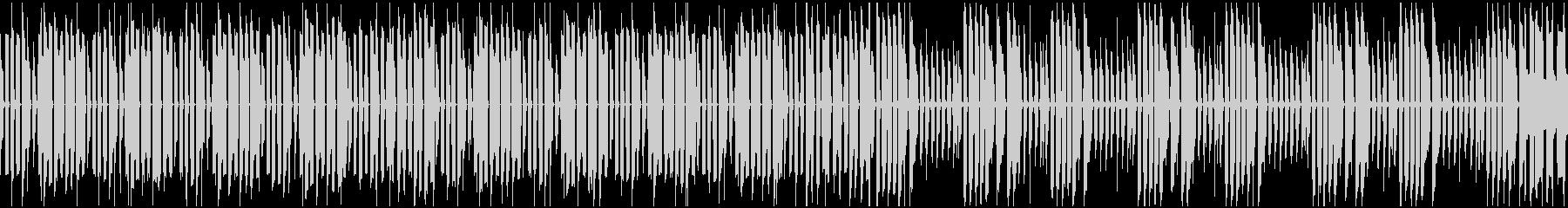 8bit風ループ音源です。の未再生の波形