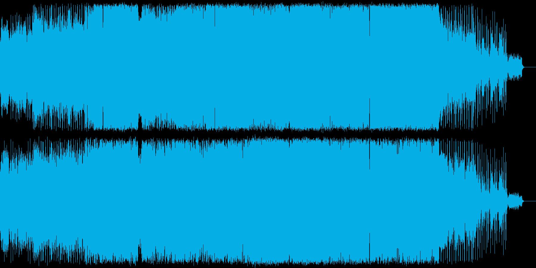 ハードロックバラード,ラウド,ギター生演の再生済みの波形