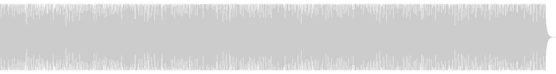 童謡「こいのぼり」元気いっぱいポップの未再生の波形