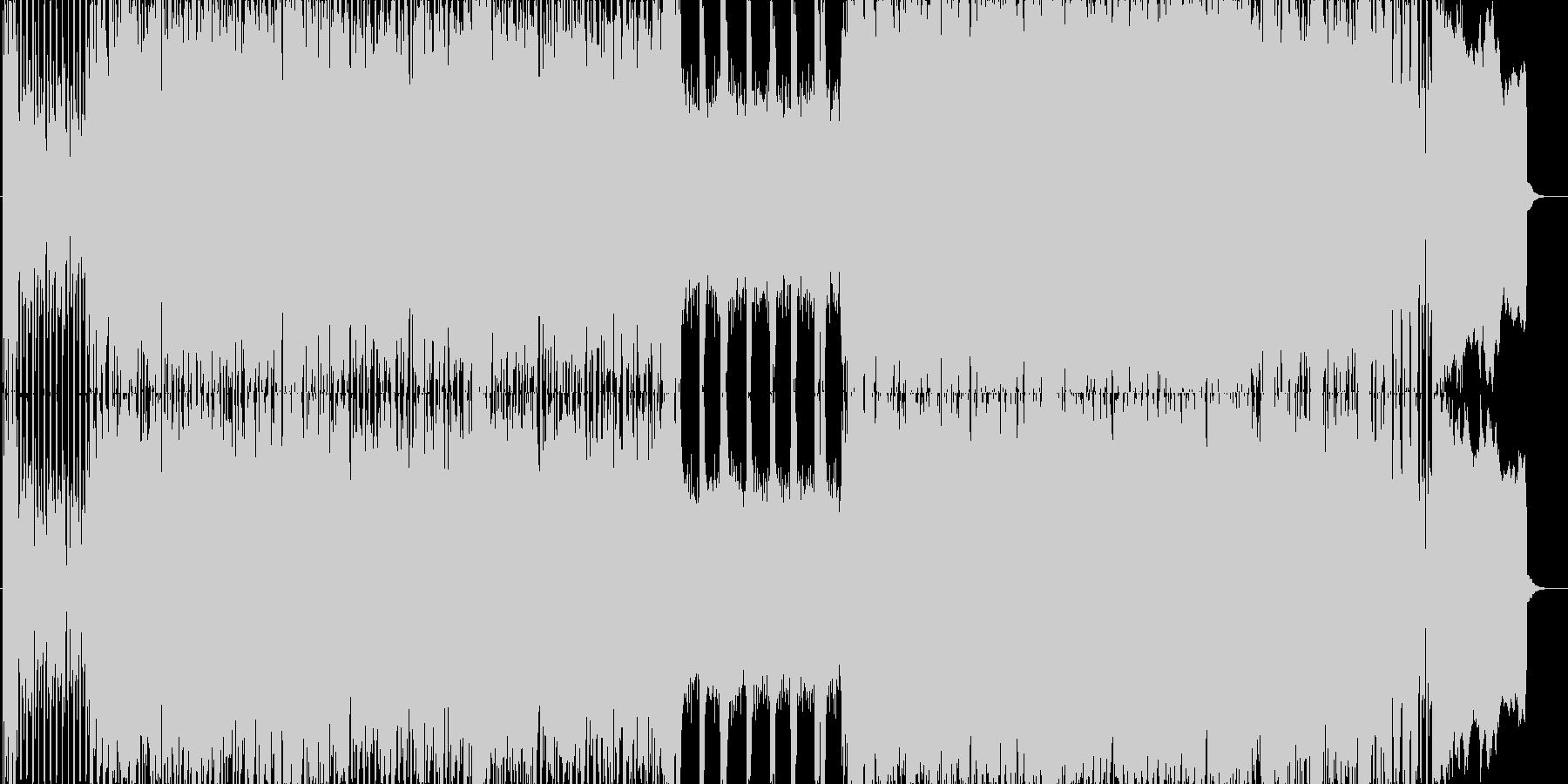 PV、予告ムービー用楽曲の未再生の波形