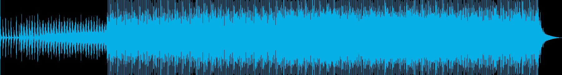明るく優しいハウスミュージック_aの再生済みの波形