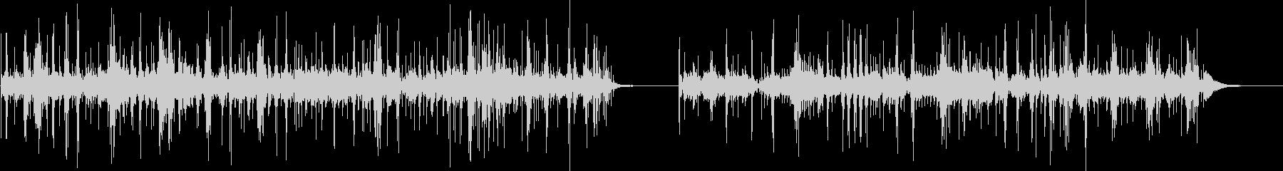 ドラムセット、ソロ、フルセット、2...の未再生の波形